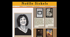 Noelle Sickels, author of historical fictions